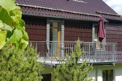 großzügiger Balkon Südseite, ideal zum Frühstücken u. Verweilen