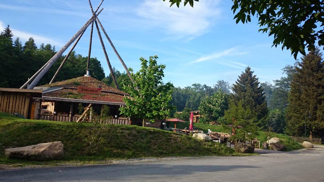 Harzköhlerei Stemberghaus bei Hasselfelde
