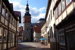 Fachwerkstadt Stollberg mit Schloss